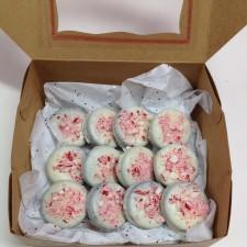 Candy Cane Oreo Gift Box