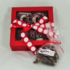 Sweetheart Box with Chocolate Bark