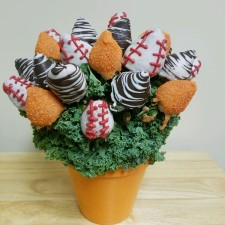 Berrylicious Baseball Bouquet