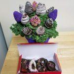 chocolate fruit bouquet